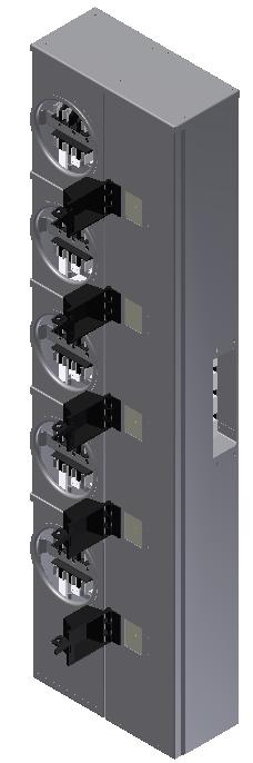MODULO 5 X 100 AMP 5 SERVICIOS